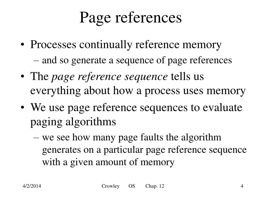 Page references