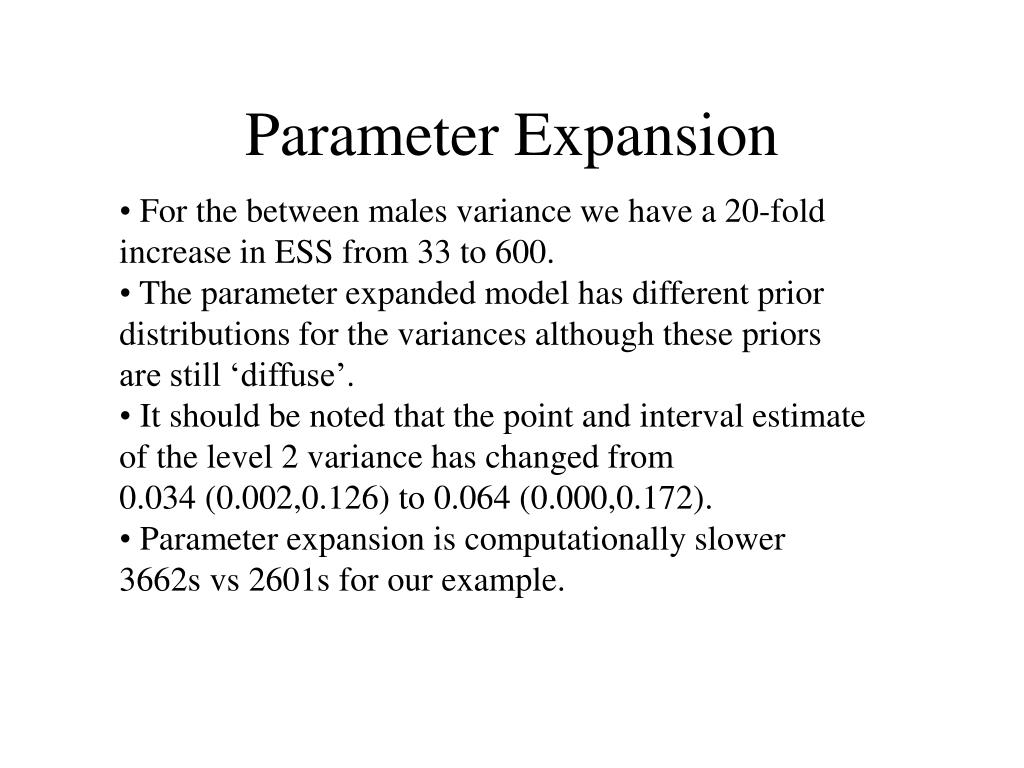 Parameter Expansion