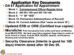application key documents28
