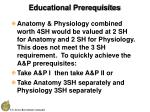 educational prerequisites20