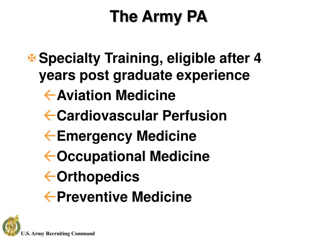 The Army PA