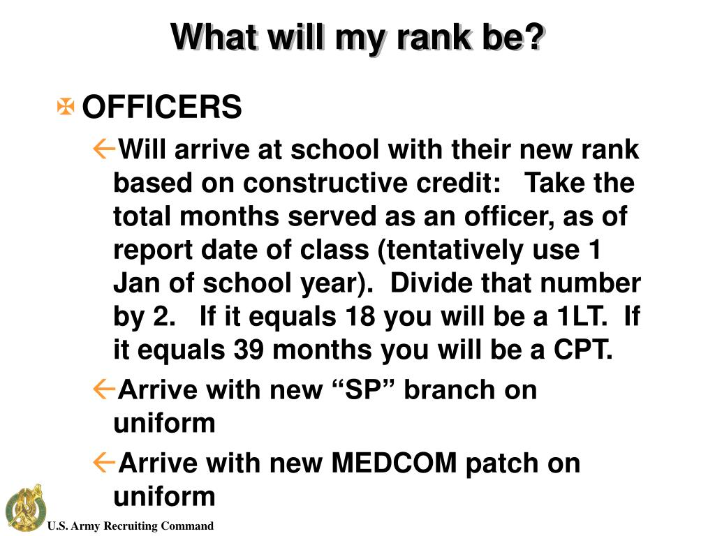 What will my rank be?