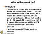 what will my rank be32