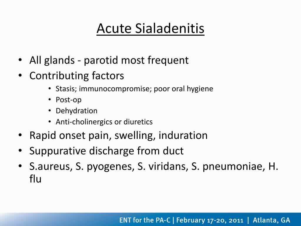 Acute Sialadenitis