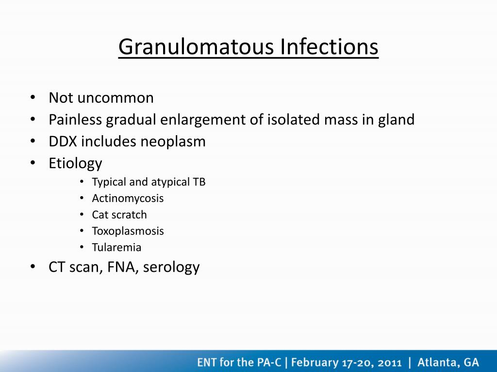 Granulomatous Infections