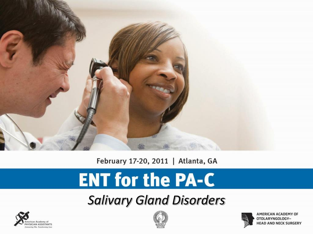 Salivary Gland Disorders