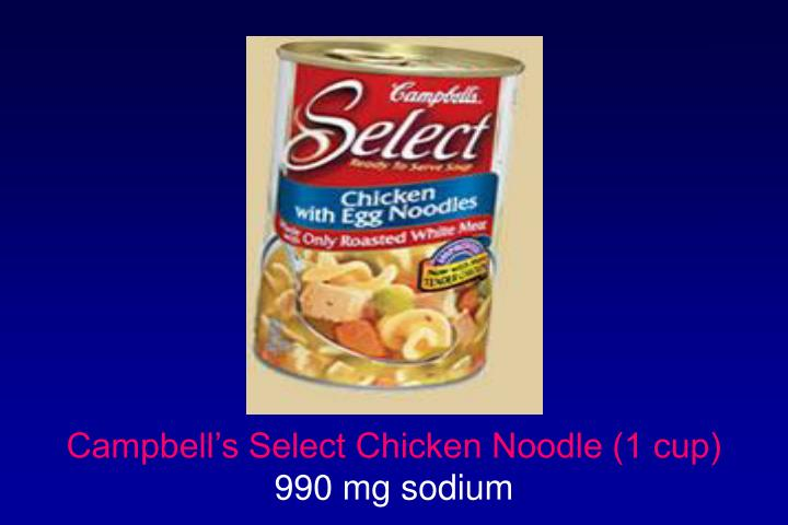 Campbell's Select Chicken Noodle (1 cup)