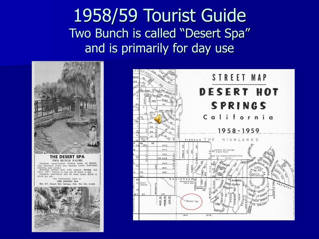 1958/59 Tourist Guide