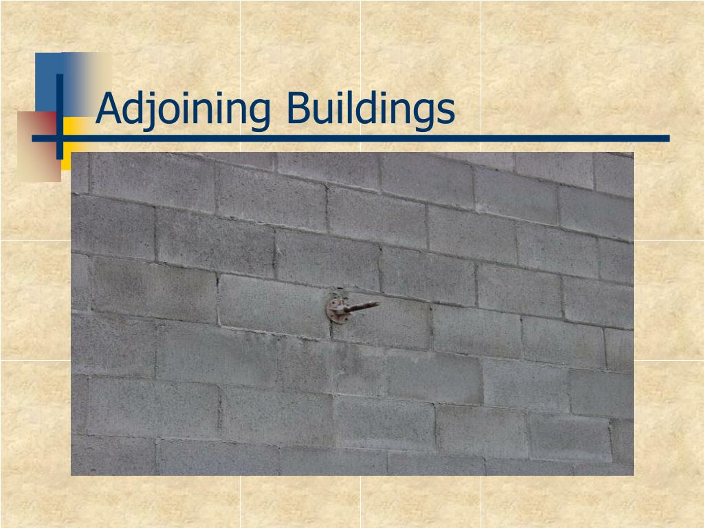 Ppt masonry bracing powerpoint presentation id 730799 for Adjoining wall