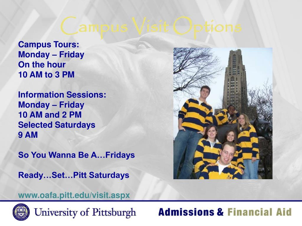 Campus Visit Options