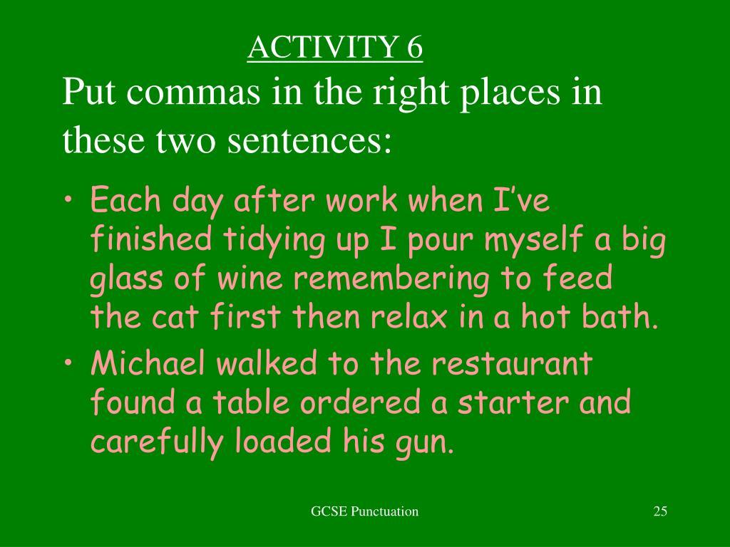 ACTIVITY 6