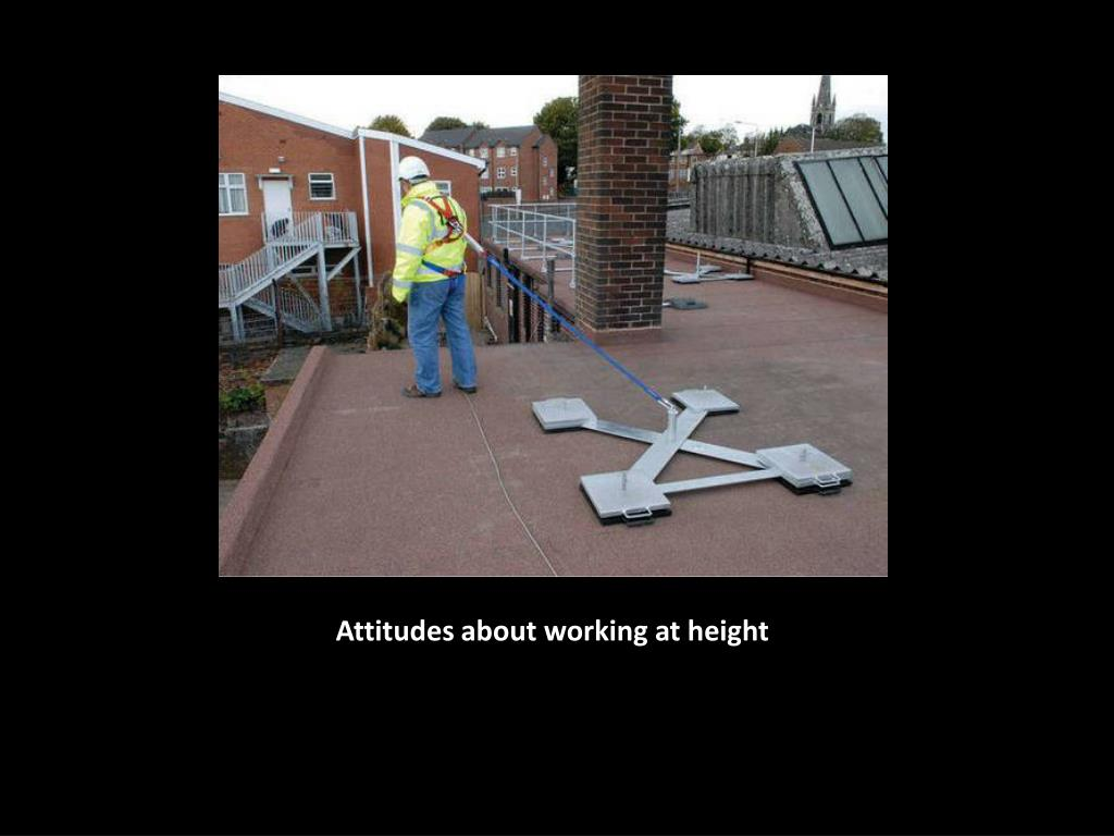 Attitudes about working at height