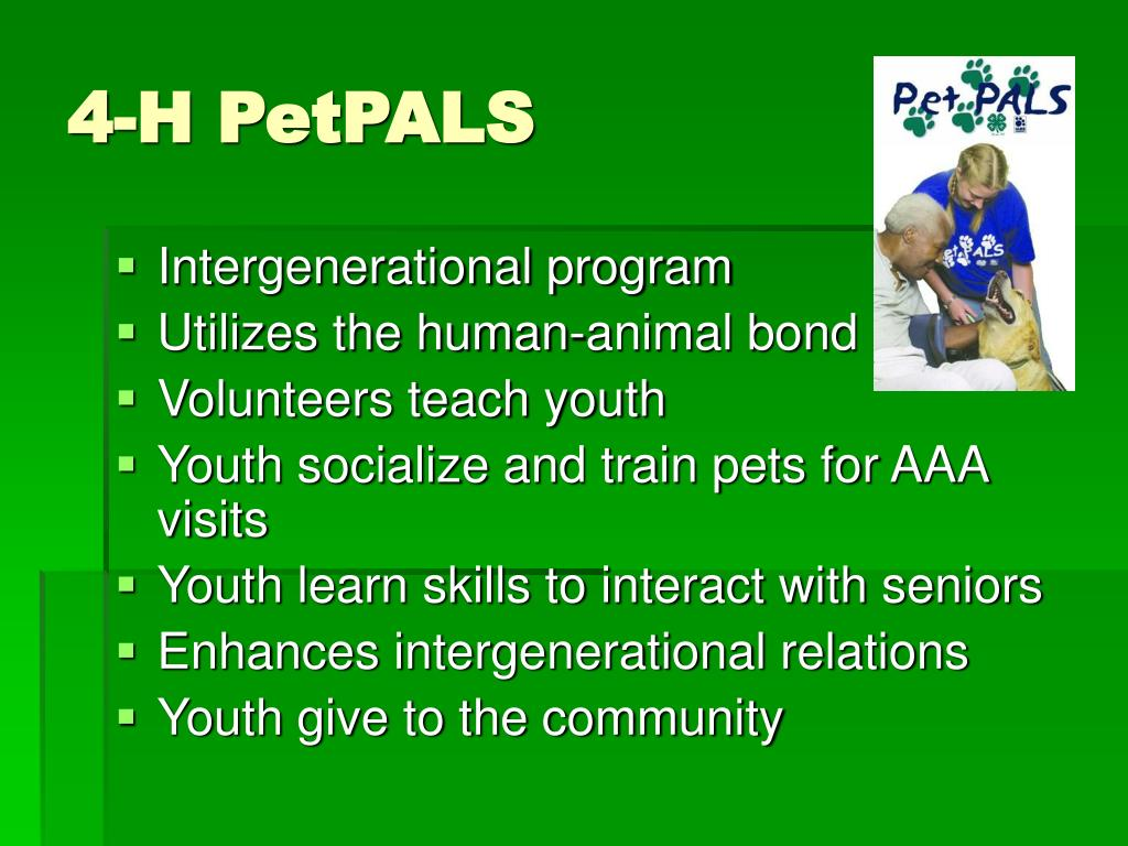 4-H PetPALS