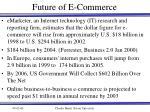 future of e commerce