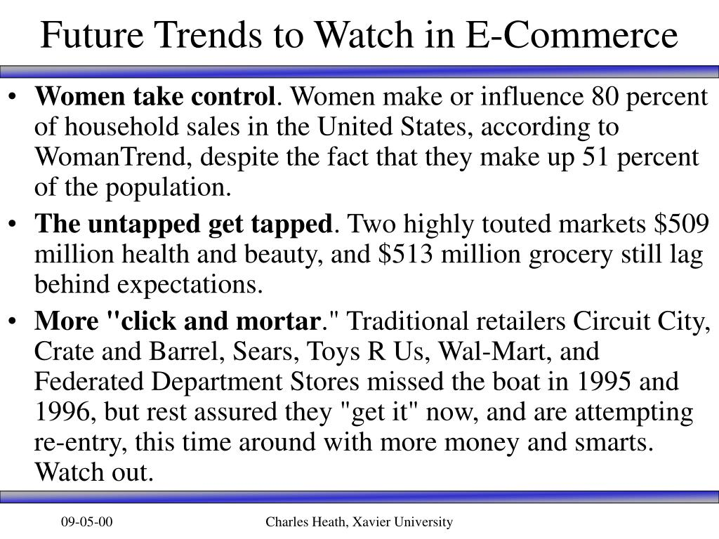 Future Trends to Watch in E-Commerce