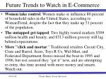 future trends to watch in e commerce