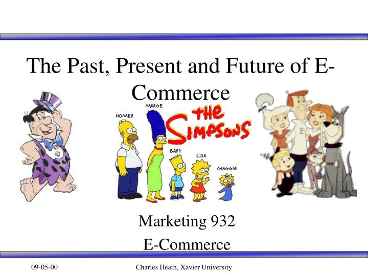 The past present and future of e commerce