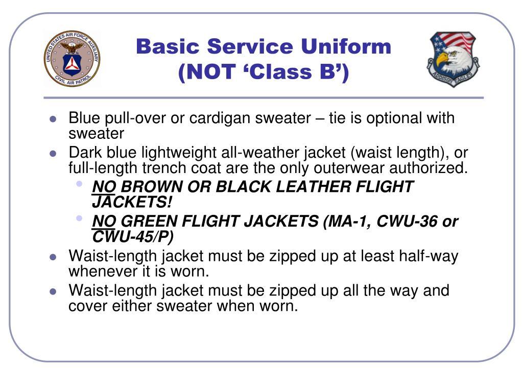 Basic Service Uniform