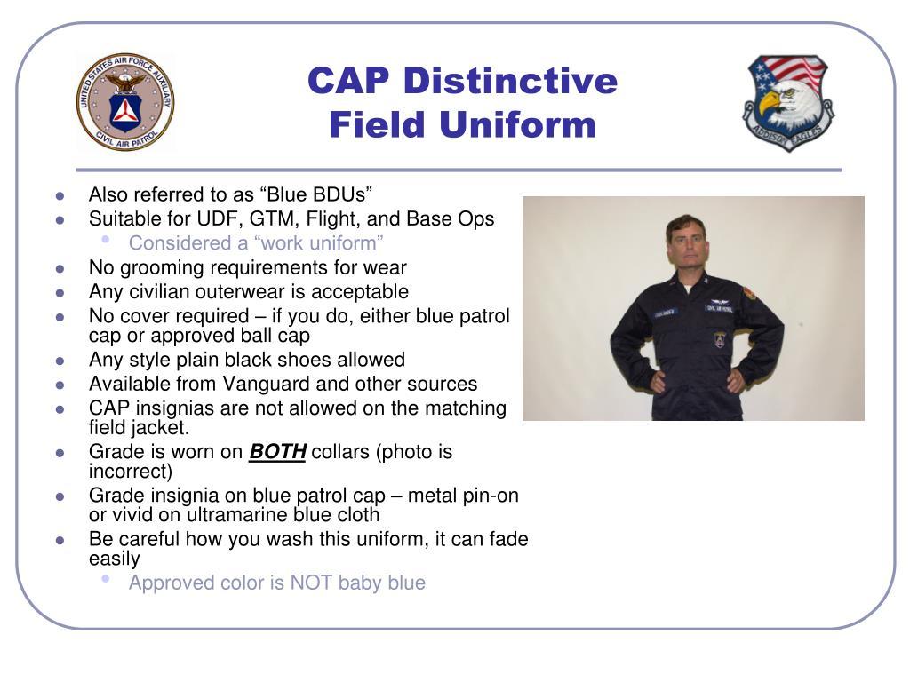 CAP Distinctive
