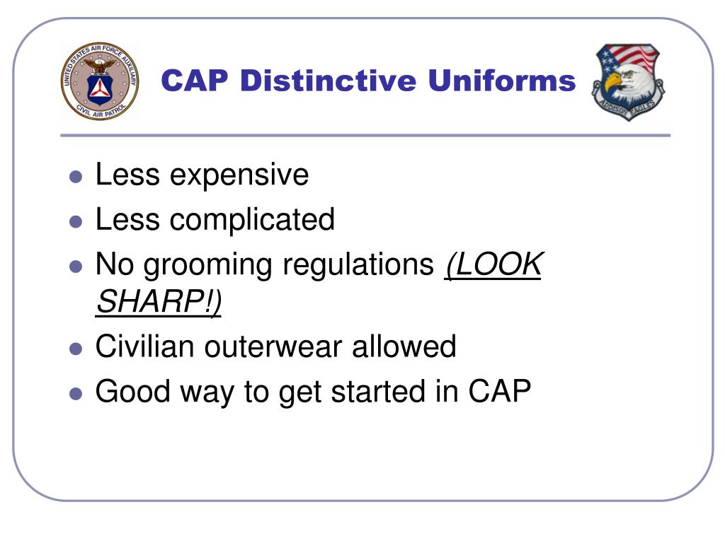 CAP Distinctive Uniforms