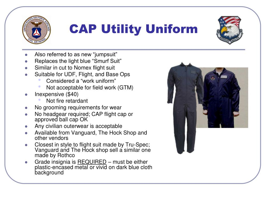 CAP Utility Uniform