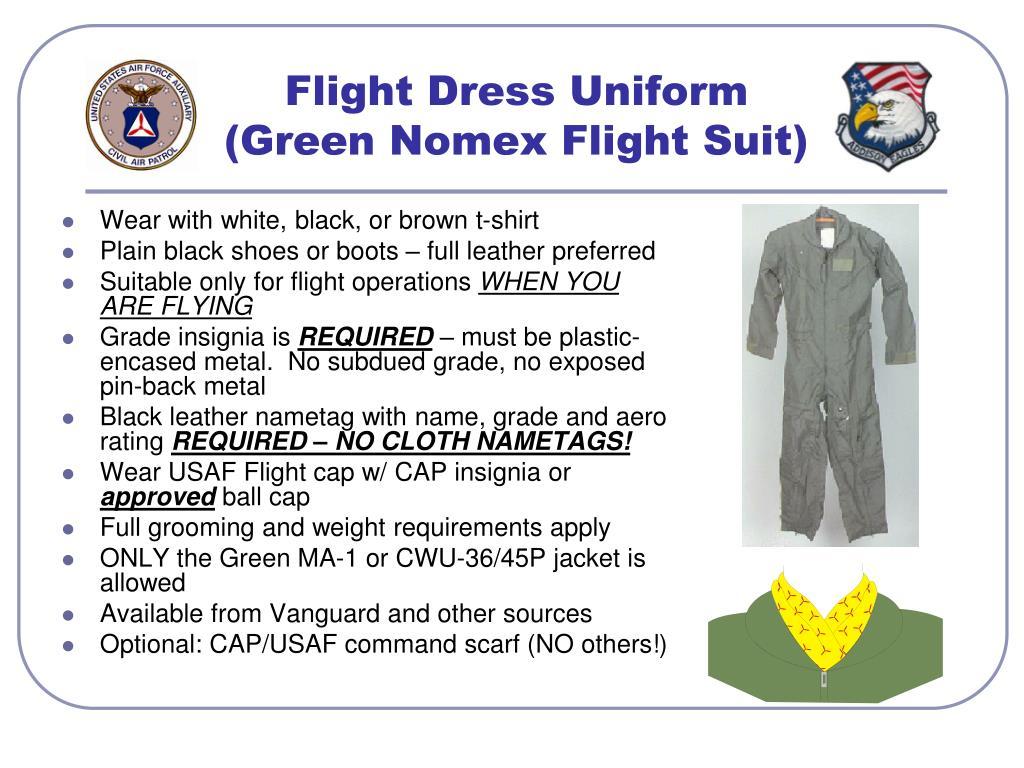 Flight Dress Uniform