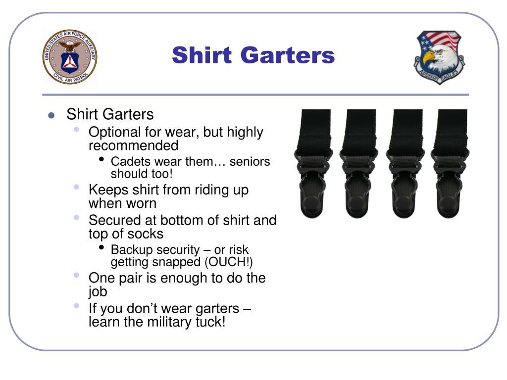 Shirt Garters