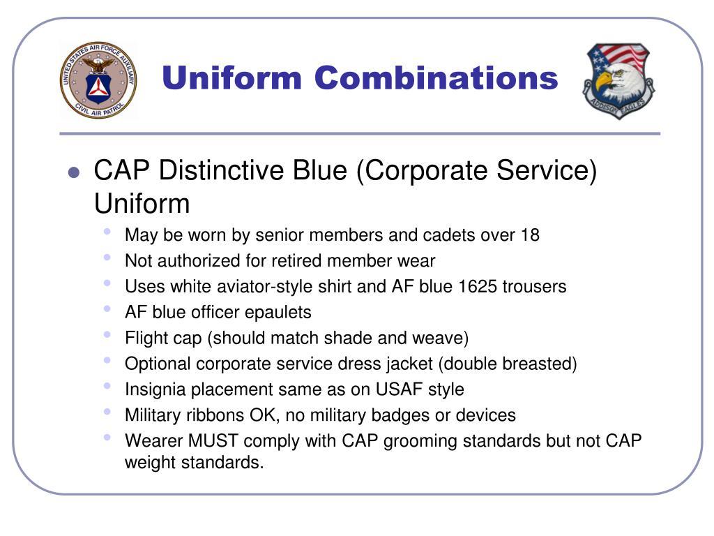 Uniform Combinations