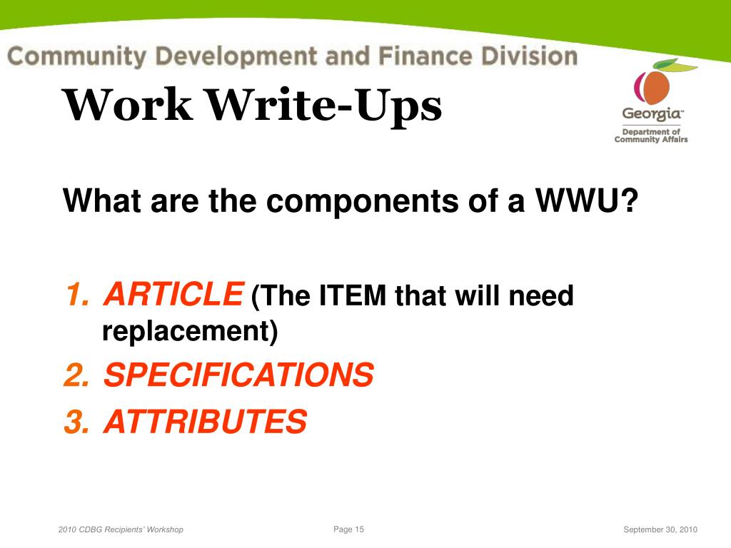 write ups at work 1 format your write-up in a readable style consider a prompt-and-colon format so that you list pertinent information followed by a colon, as in: contact information.