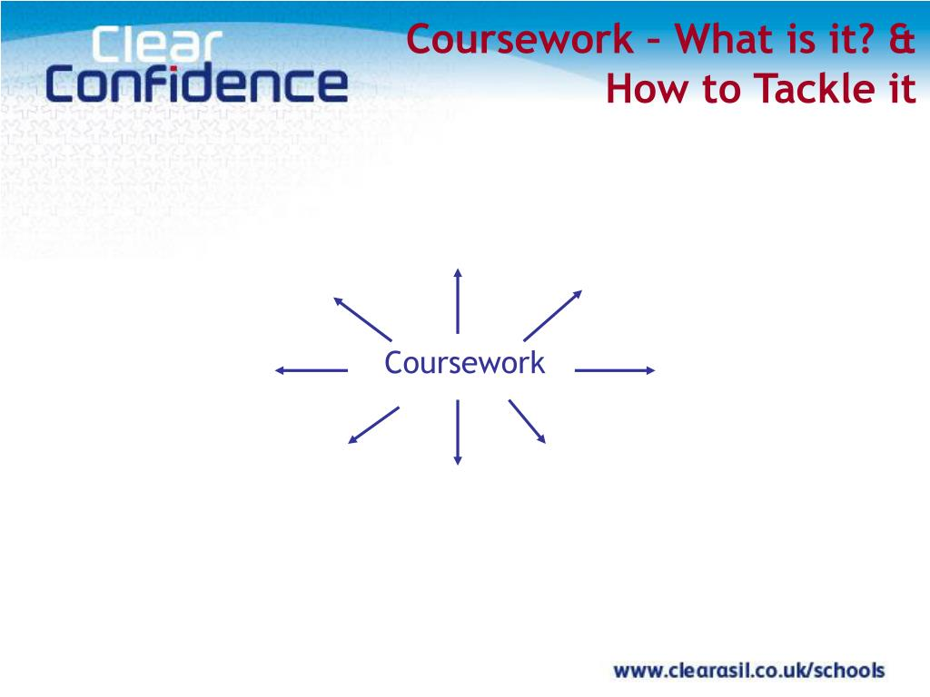 Coursework – What is it? &