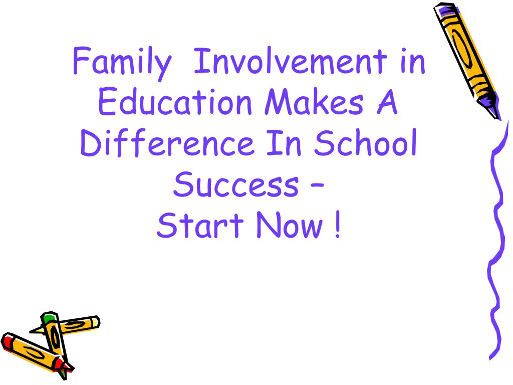 parental involvement within a childs education Parental involvement in education linda louise fletke  research has shown that parental involvement is essential to a child's educational success this thesis .