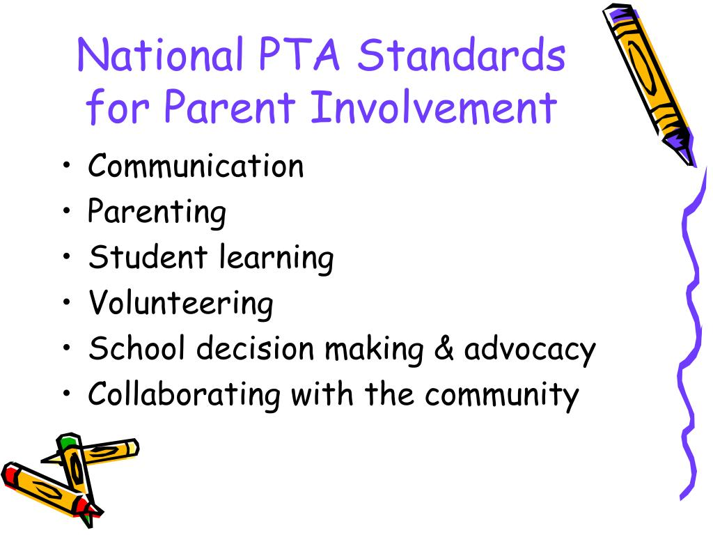 parent involvement in education Parental involvement in education - research on parental involvement, effects on parental involvement, obstacles to parental involvement, controversies, current issues please send 1 the author's name/s and.