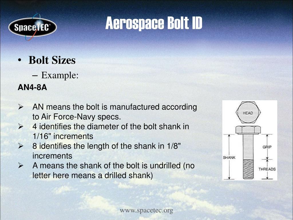 Aerospace Bolt ID