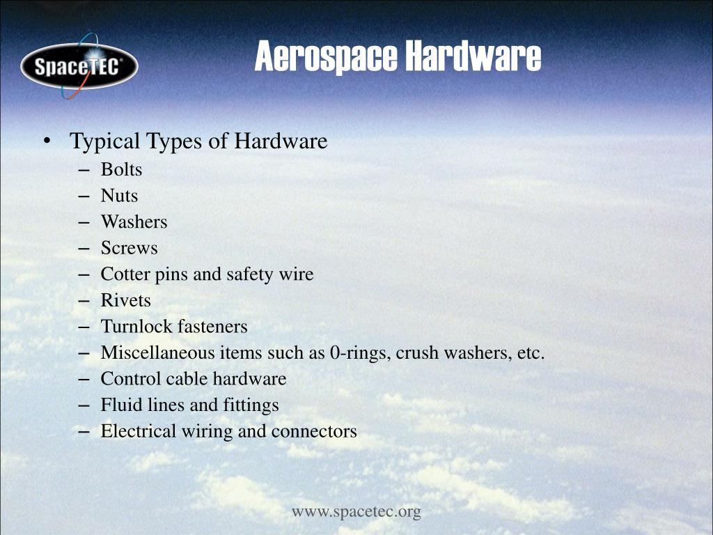 Aerospace Hardware