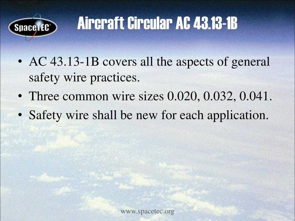 Aircraft Circular AC 43.13-1B