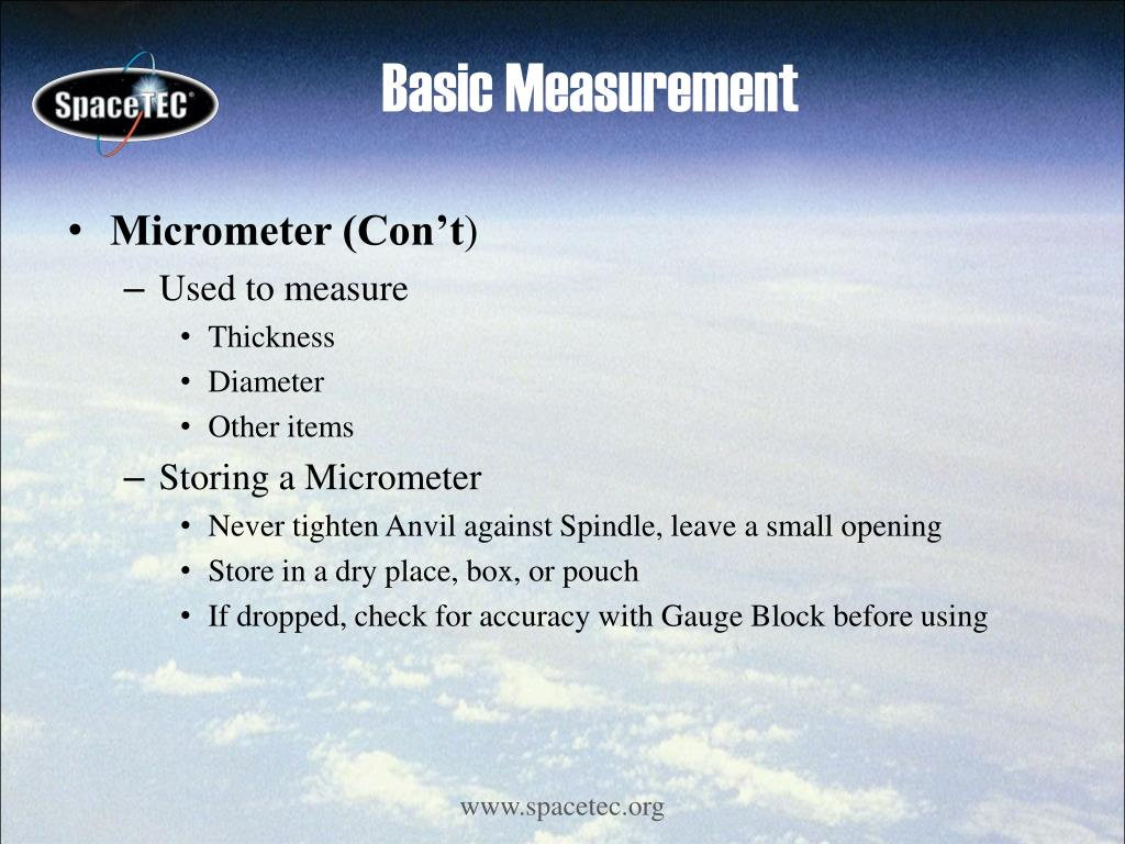 Basic Measurement