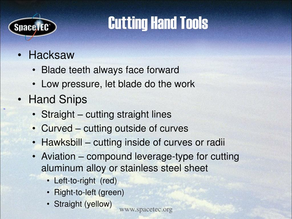 Cutting Hand Tools