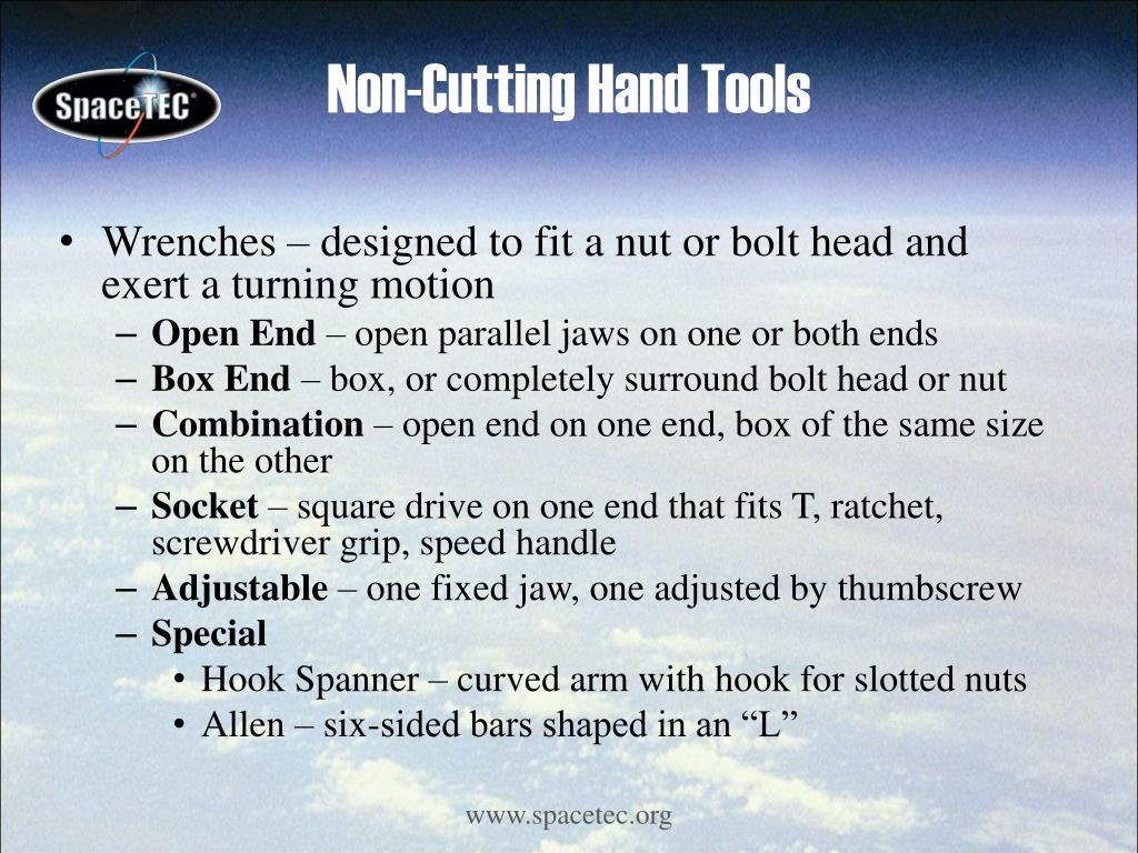 Non-Cutting Hand Tools