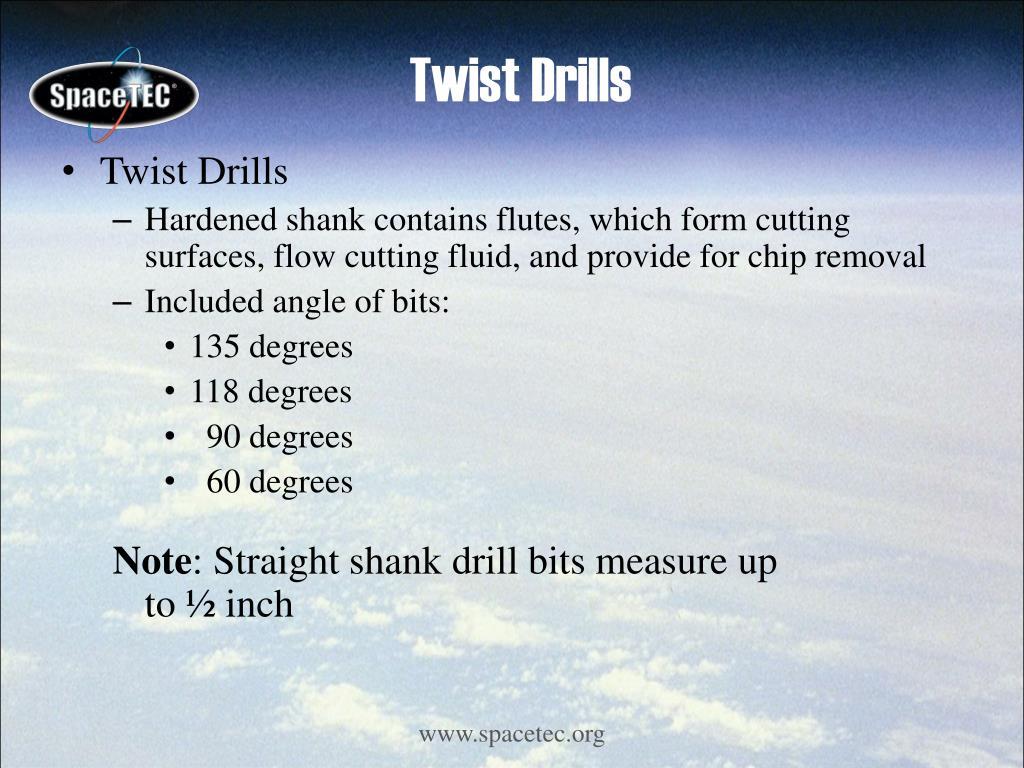 Twist Drills