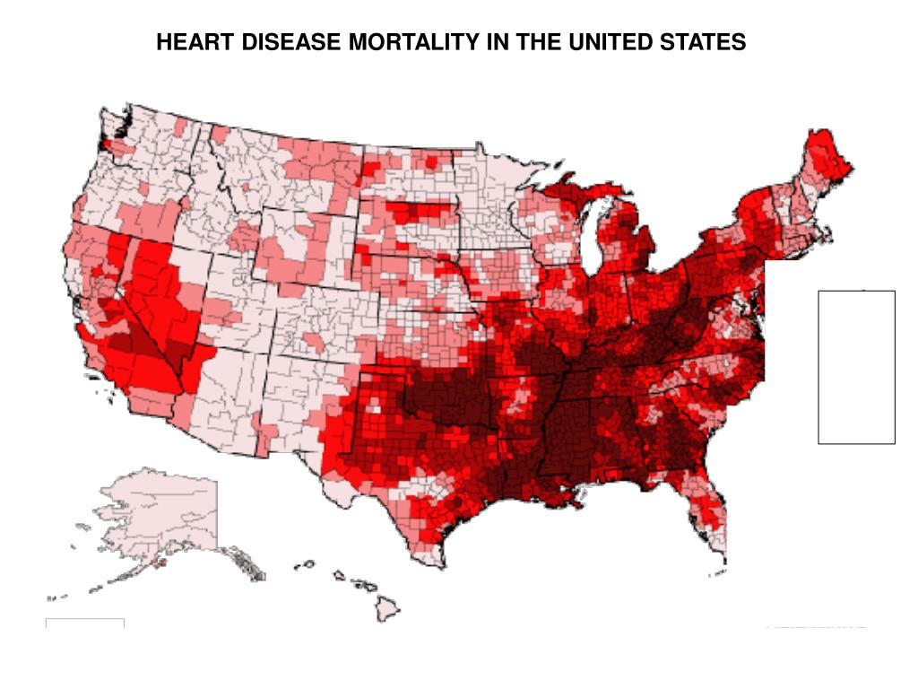 HEART DISEASE MORTALITY IN THE UNITED STATES