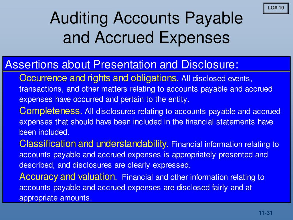 unrecorded liability audit procedures #50- search for unrecorded liabilities attendance of stock-take is an audit procedure carried out by auditor to test the existence and completeness of.