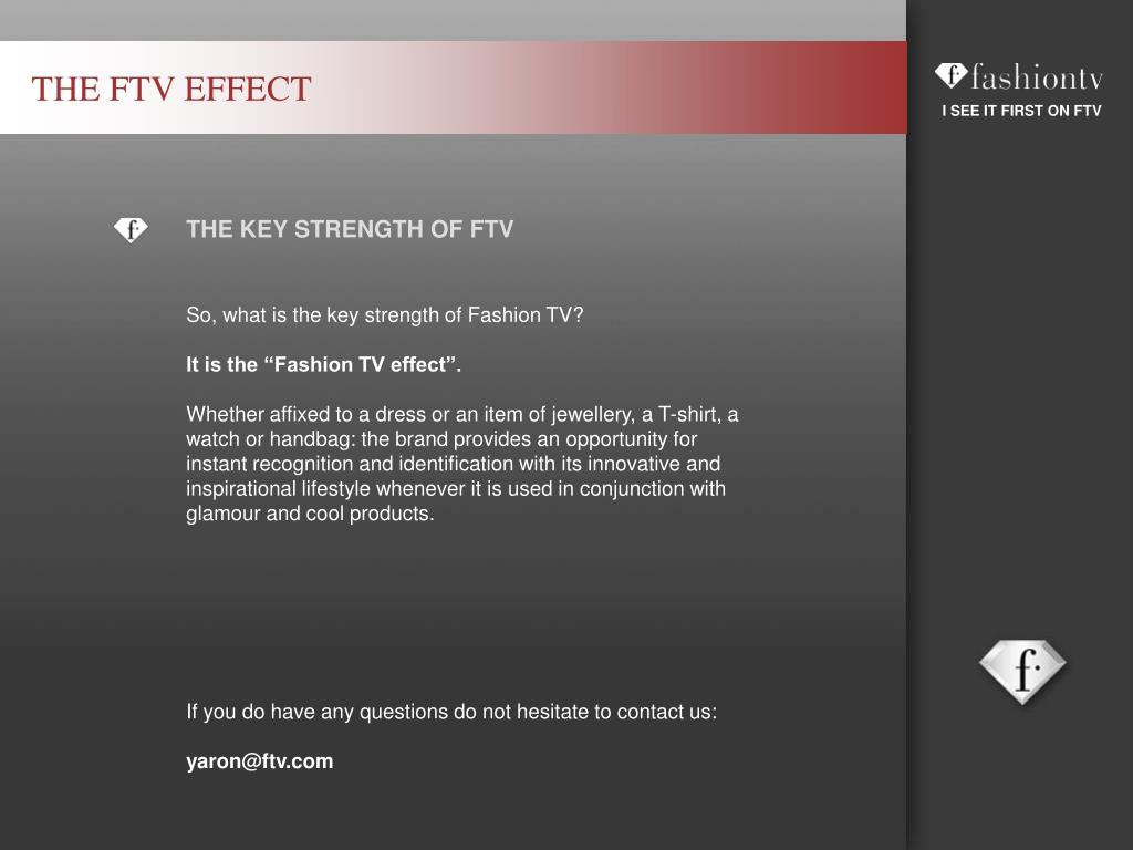 THE FTV EFFECT