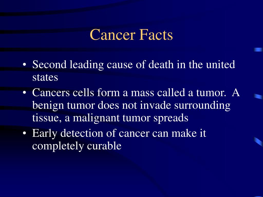 Cancer Facts