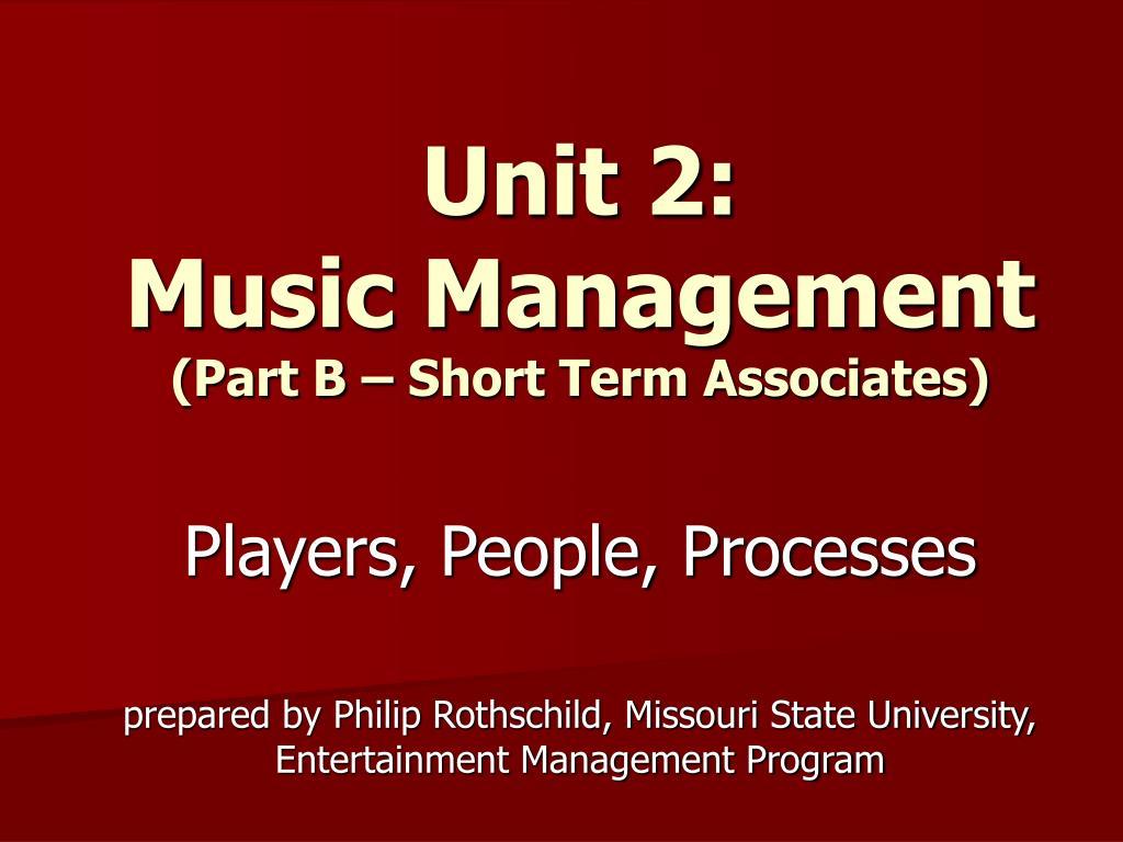 Unit 2: