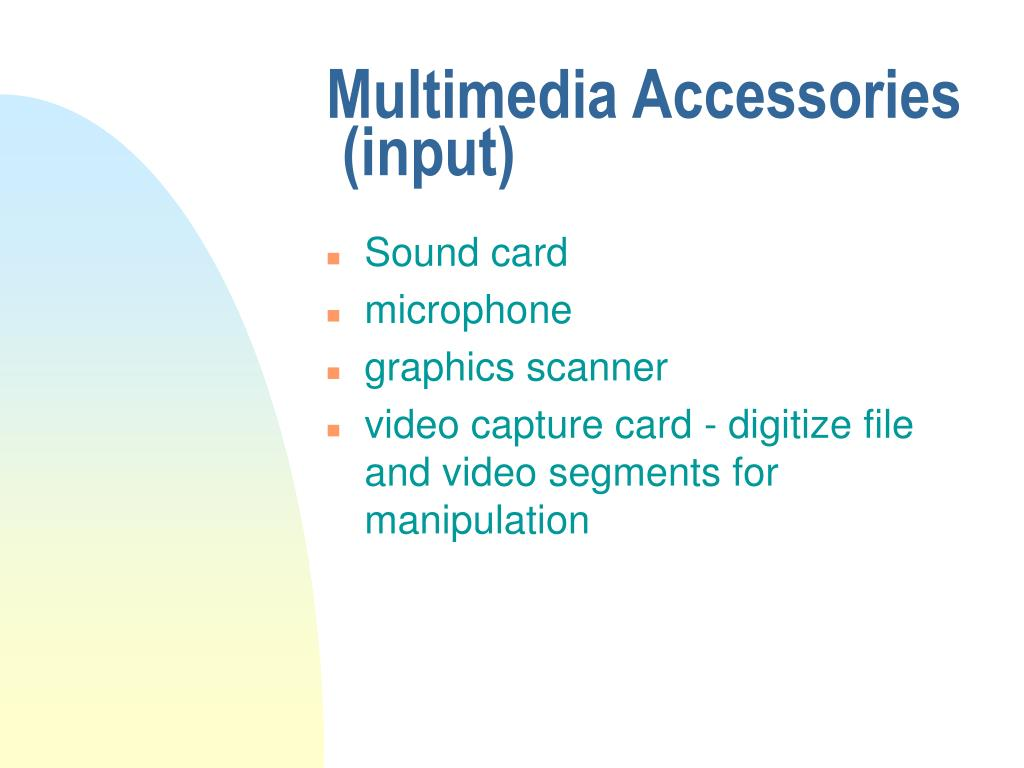 Multimedia Accessories