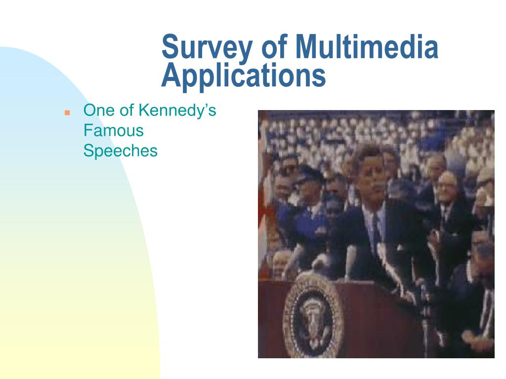 Survey of Multimedia Applications