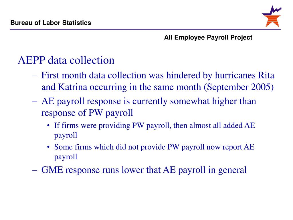 AEPP data collection