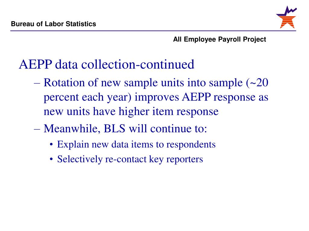 AEPP data collection-continued