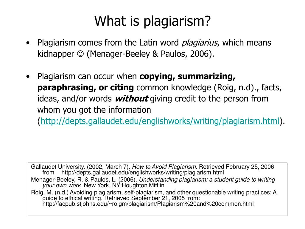 essays for plagarism