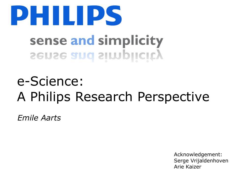 e-Science: